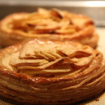 Apple Tartlet with goat cheese