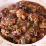 black bean tomatillo chili
