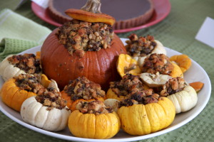 Stuffed Pumpkins Thanksgiving
