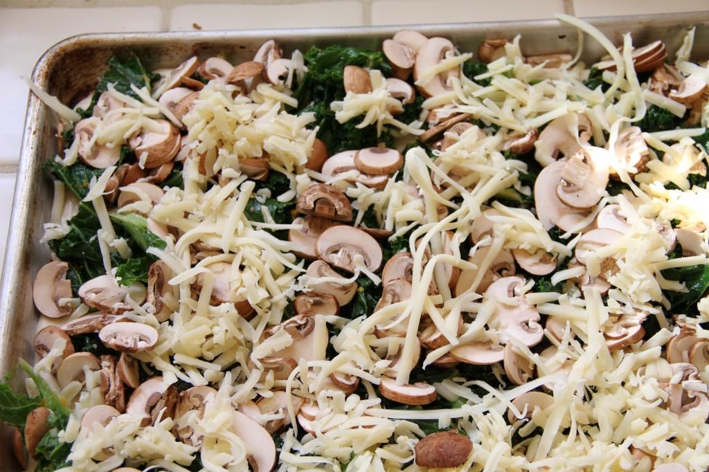 Kale Mushroom Flatbread