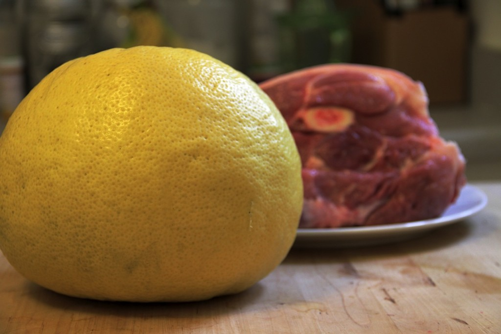 Meyer Lemon Pork Shoulder