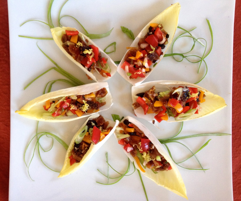 Pepper and Fig Salsa