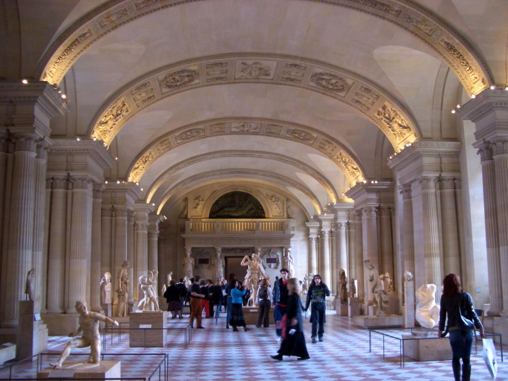 Louvre Interior