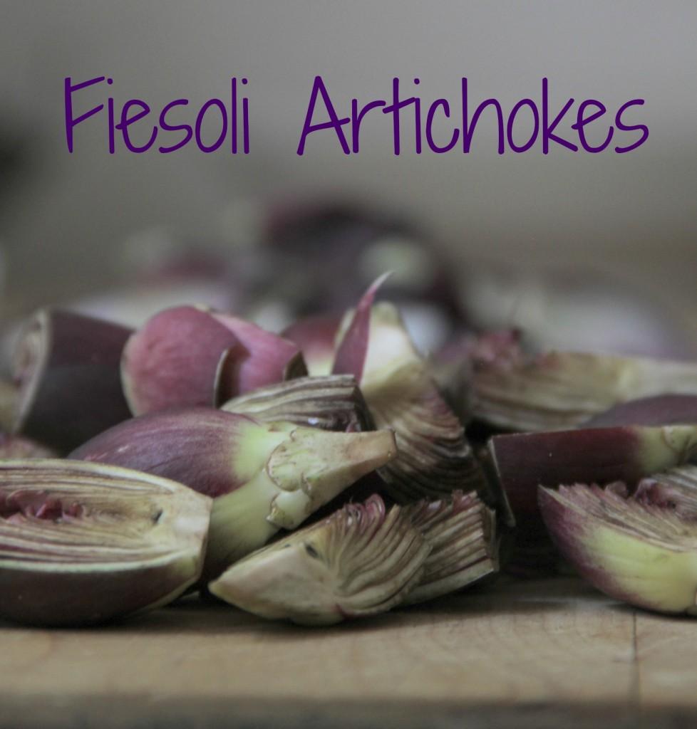 Fiesole artichokes