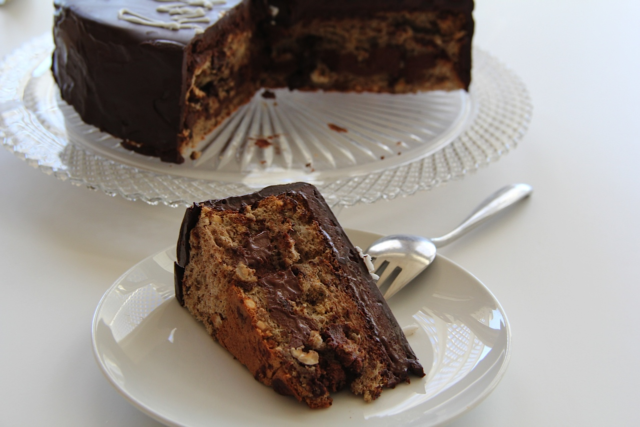 Chocolate Walnut Cake Images : Chocolate Walnut Cake - Two Broads Abroad