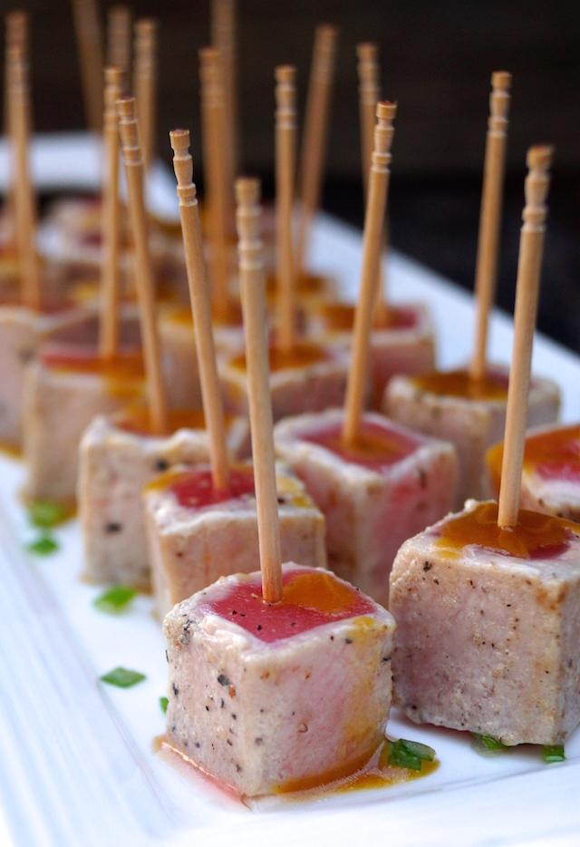 Wasabi Glazed Tuna
