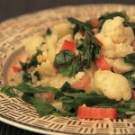 Swiss Chard and Cauliflower
