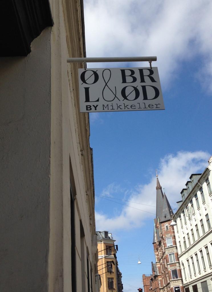 Ol & Brod CPH exterior sign