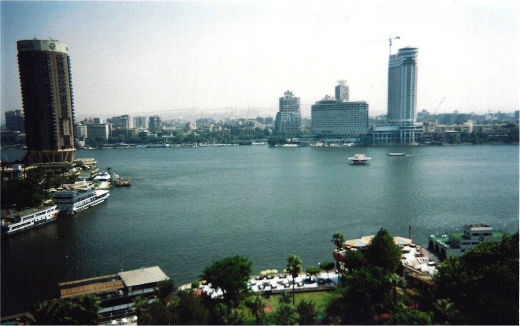 Cairo Nile from Hotel Window