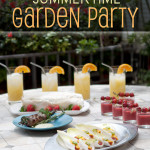Summertime Garden Party Menu