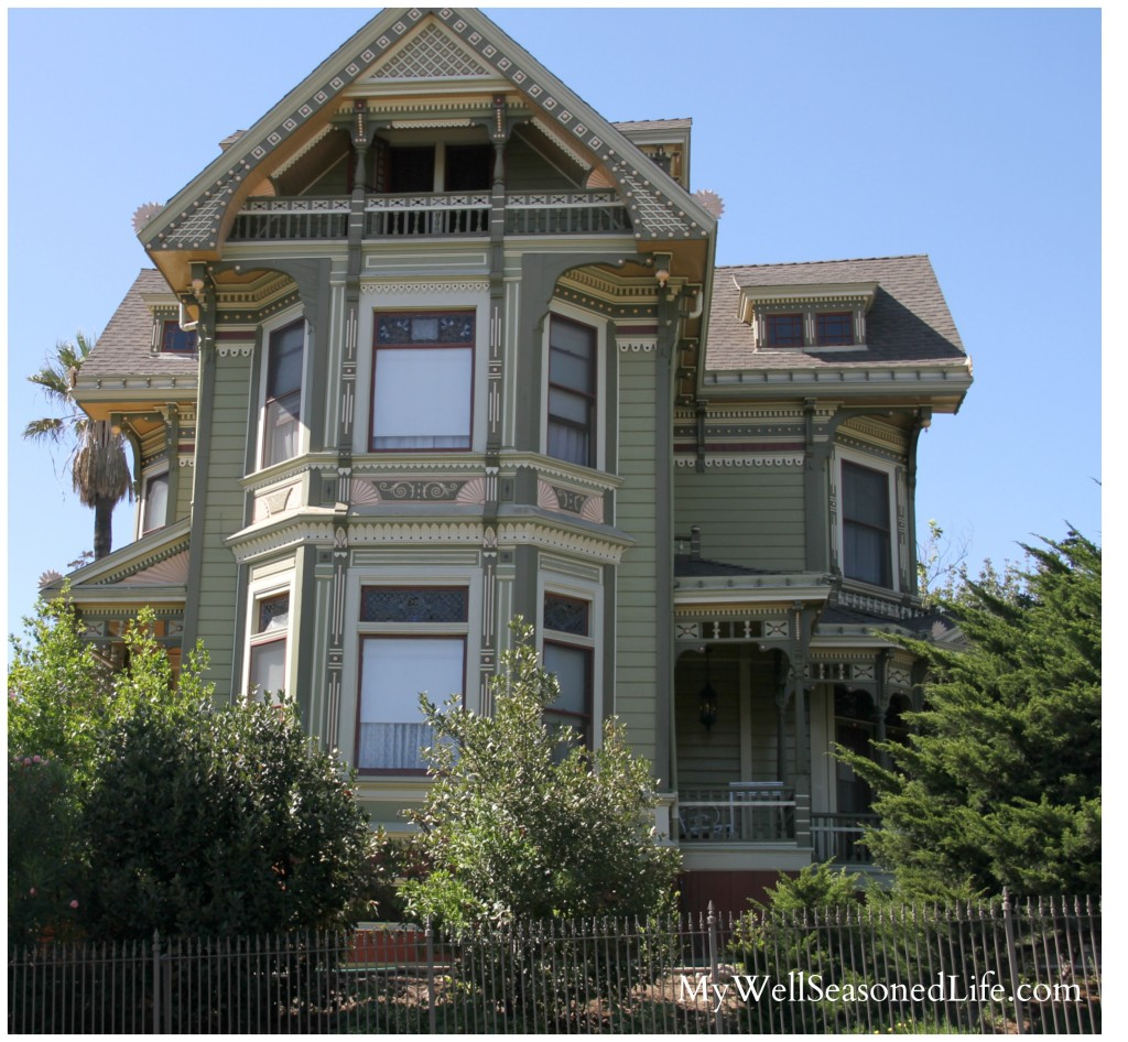 Angelino Heights Victorian House