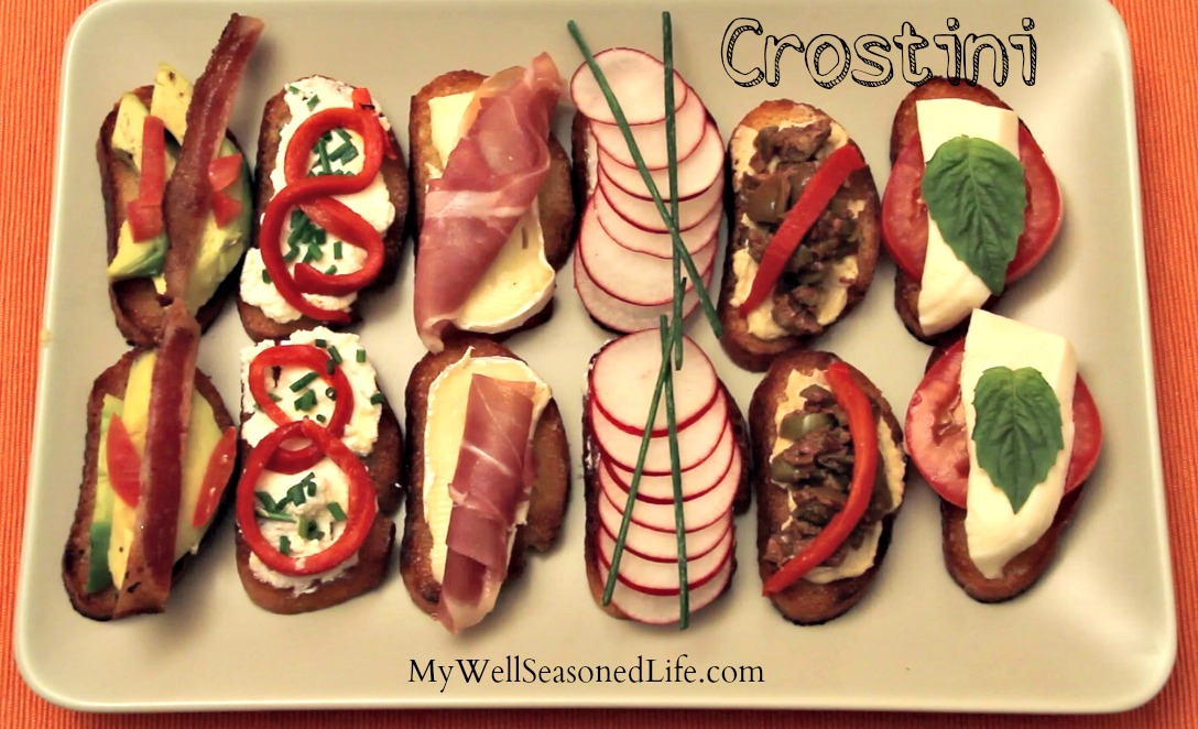 crostini or toasts