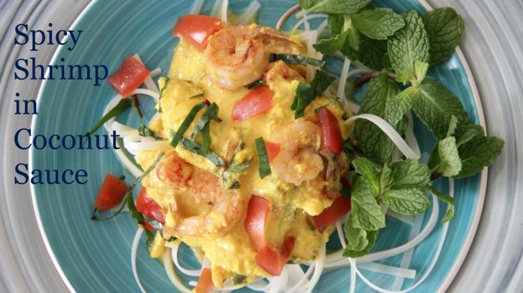 Spicy Shrimp in Coconut Sauce