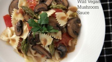 Wild Vegan Mushroom Sauce