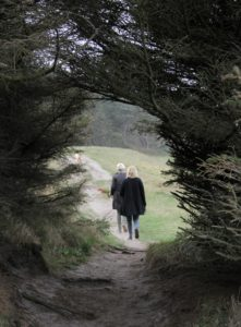 Walk with friends in Rågeleje