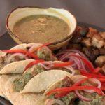 pipian sauce tacos