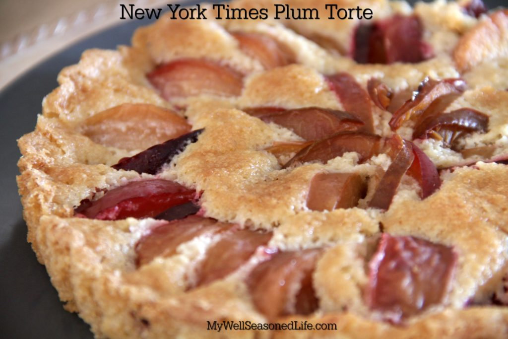 new york times plum torte