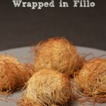 Chicken croquettes wrapped in fillo