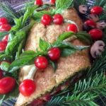 Savory Vegetarian Yule Log