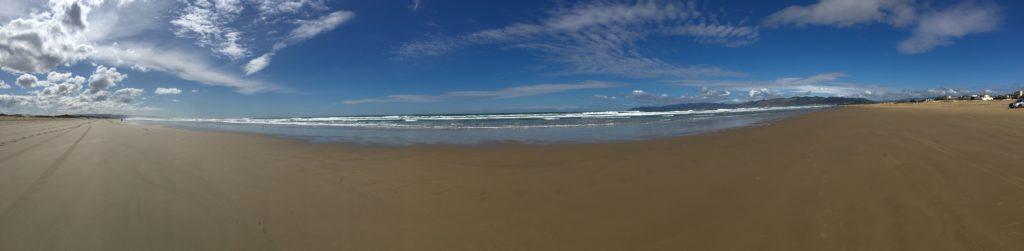 Oceano Dunes panerama du