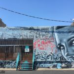 Her Eyes Graffiti Downtown LA