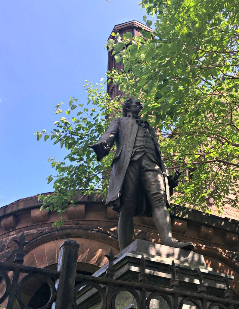 Statue of Hamilton