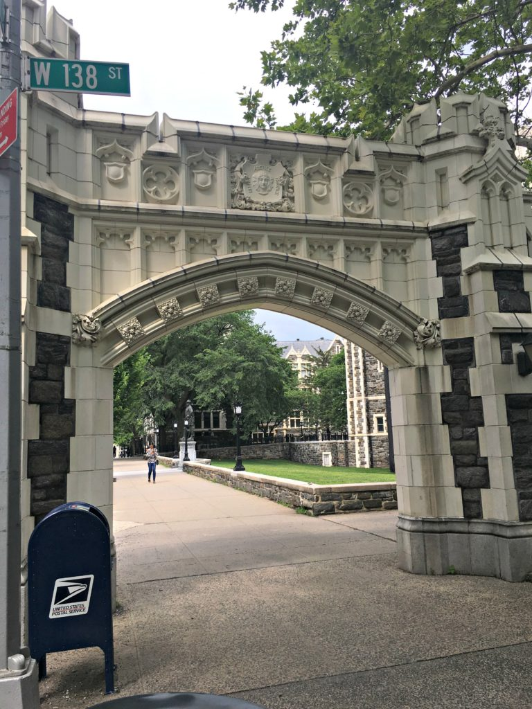 archway to City College NYC